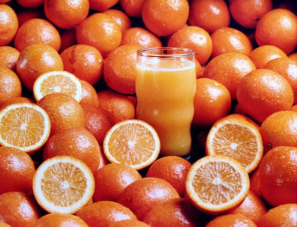 Fresh Orange Juice Poster