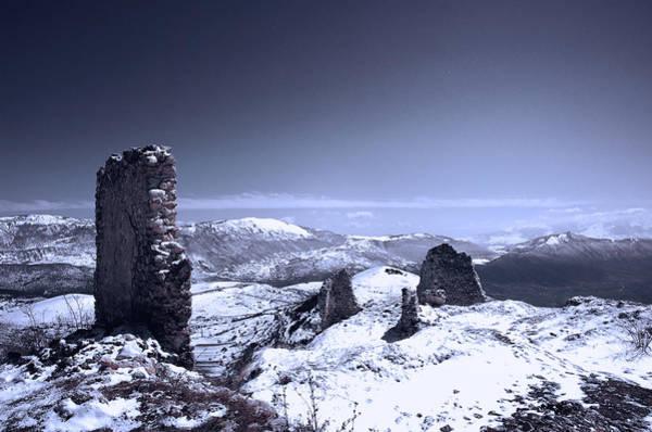 Frozen Landscape Poster