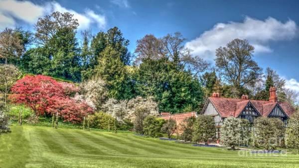 Garden Of Powis Castle Poster