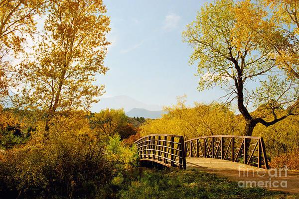 Garden Of The Gods Bridge Poster
