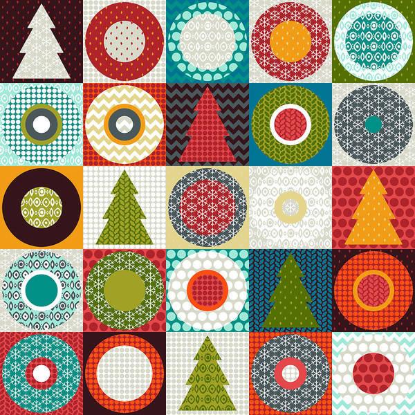 Geo Christmas Poster