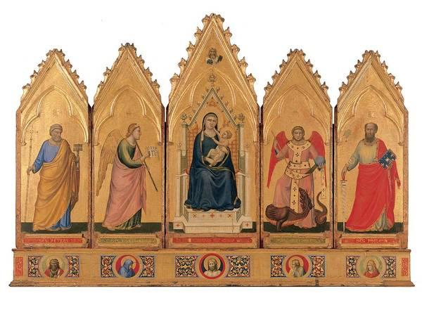 Giotto, School Giotto, Bologna Poster