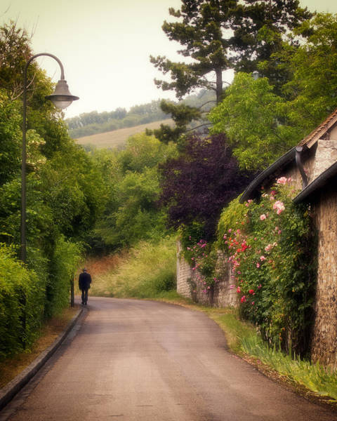 Poster featuring the photograph Giverny Country Road by Gigi Ebert