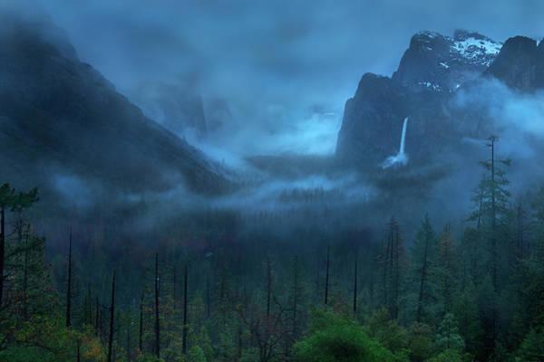 Gloomy Mountain Poster