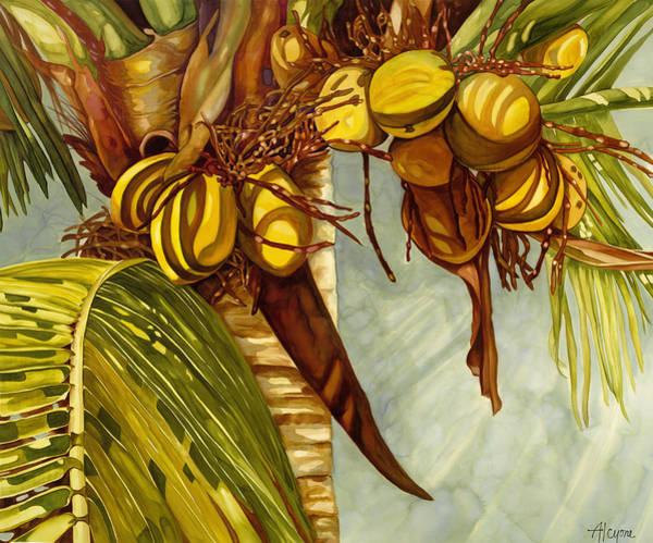 Golden Coconuts Poster