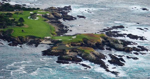 Golf Course On An Island, Pebble Beach Poster