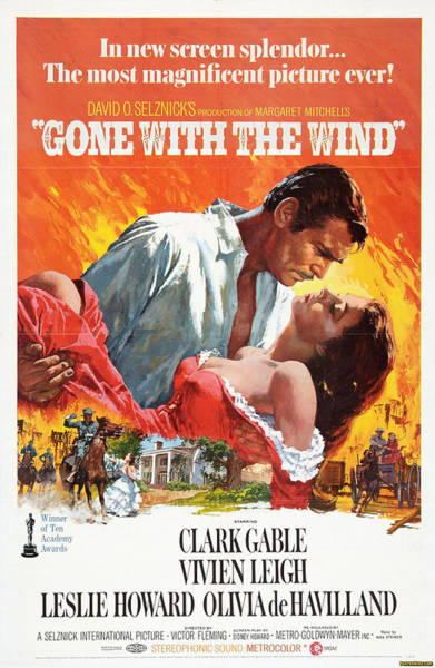 Gone With The Wind - 1939 Poster