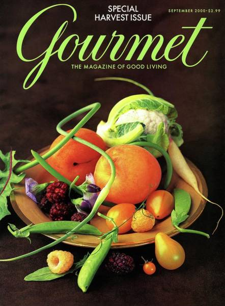 Gourmet Cover Featuring A Variety Of Fruit Poster