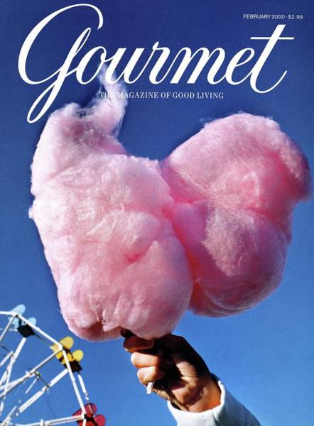 Gourmet Magazine Cover Featuring Hand Holding Poster