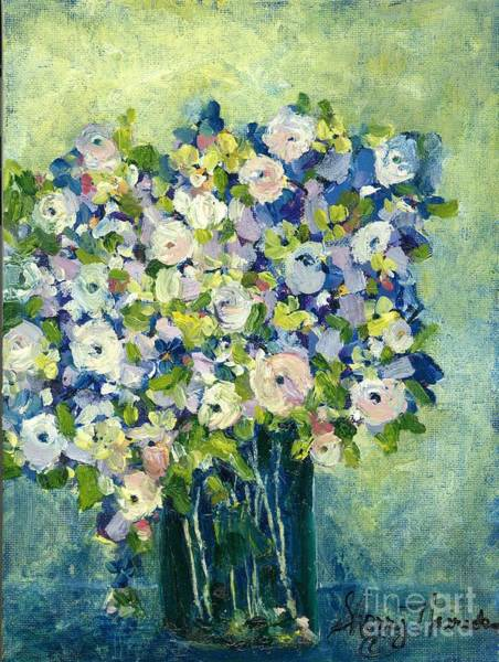 Grandma's Flowers Poster