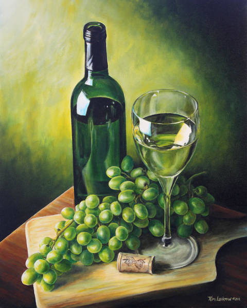Grapes And Wine Poster