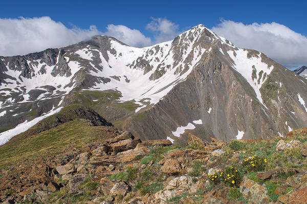 Grays And Torreys Peak Poster