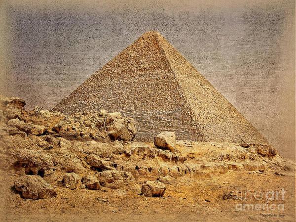 Great Pyramid Of Khufu Poster