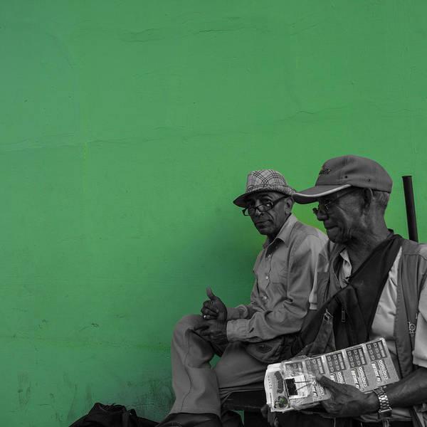 Green Granada Poster