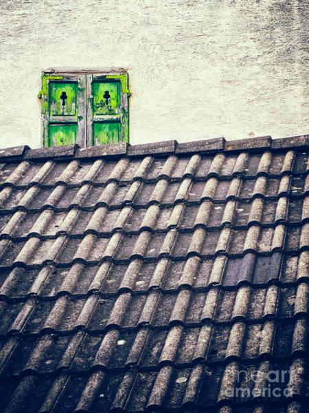 Green Shutters Poster