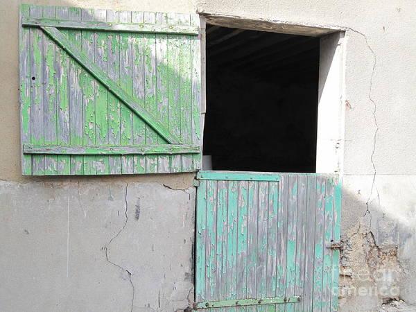 Green Stable Door Poster