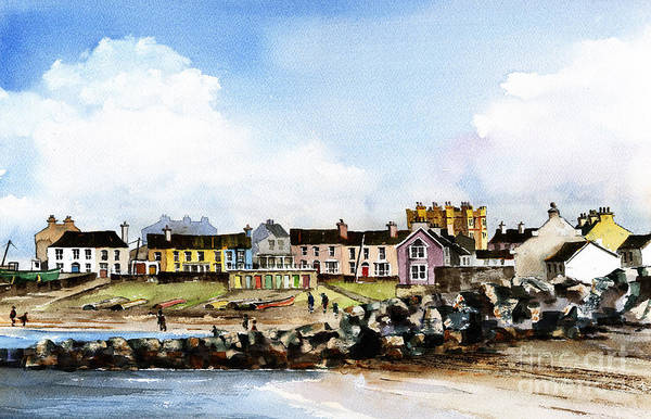 Greystones North Beach  Wicklow Poster
