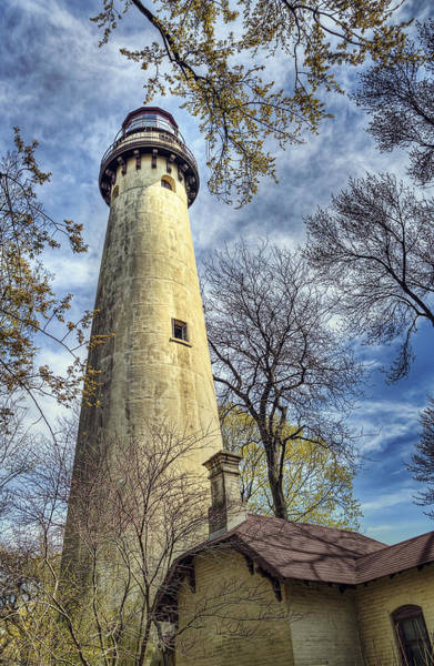 Grosse Point Lighthouse Color Poster