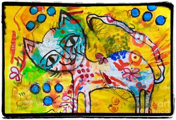 Happy Pussycat Poster