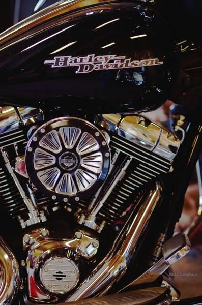 Harley Davidson Abstract Poster