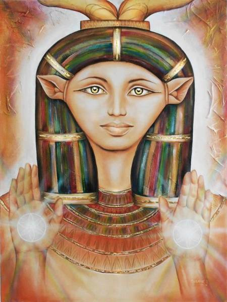 Hathor Rendition Poster