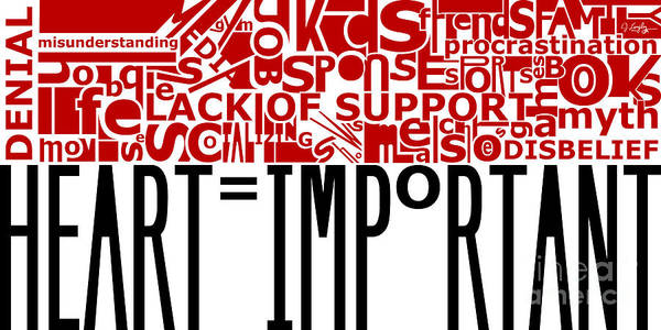 Heart Important Poster