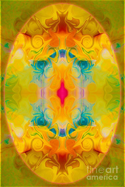 Heavenly Bliss Abstract Healing Artwork By Omaste Witkowski  Poster