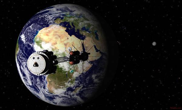 Hermes1 Leaving Earth Part 1 Poster