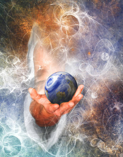He's Got The Whole World In His Hand Poster