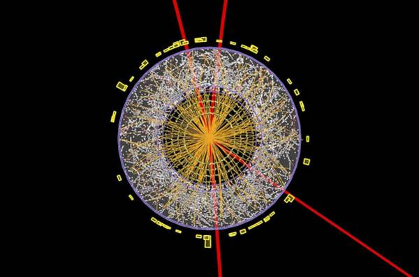 Higgs Boson Event, Atlas Detector Poster