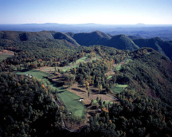 Highland Course At Primland Poster