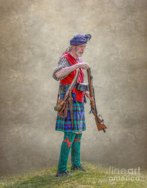 Highlander Loading Rifle Penns Colony Poster
