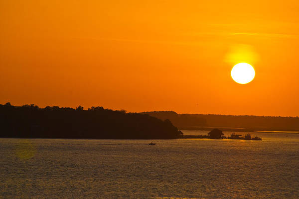 Hilton Head Island Sunset Cit 13 Poster