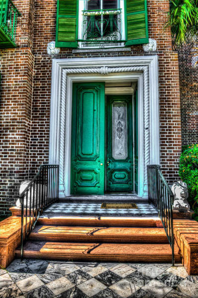 Historic Charleston Sc Door Poster