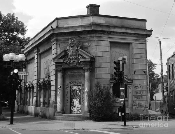 Historic Molson Bank St Henri Poster