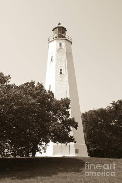 Historic Sandy Hook Lighthouse Poster