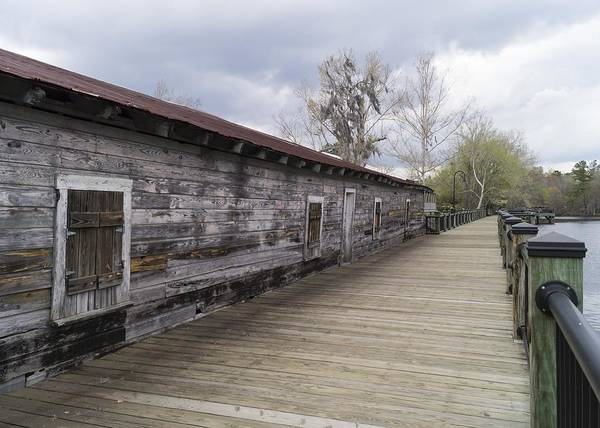 Historic Steamer Terminal On The Waccamaw River Poster