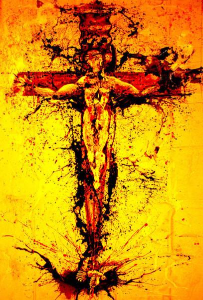 Holy Cross Unholy Sword Poster