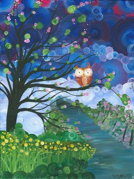Hoolandia Seasons Spring Poster
