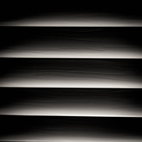 Horizontal Blinds Poster
