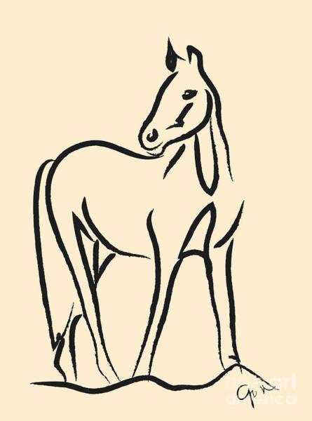 Horse - Grace Poster