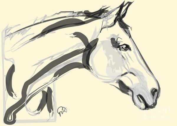 Horse - Lovely Poster