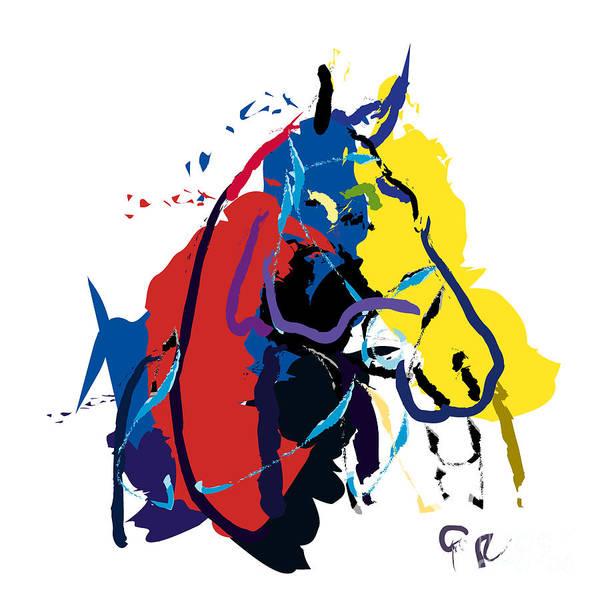 Horse- Zam Poster