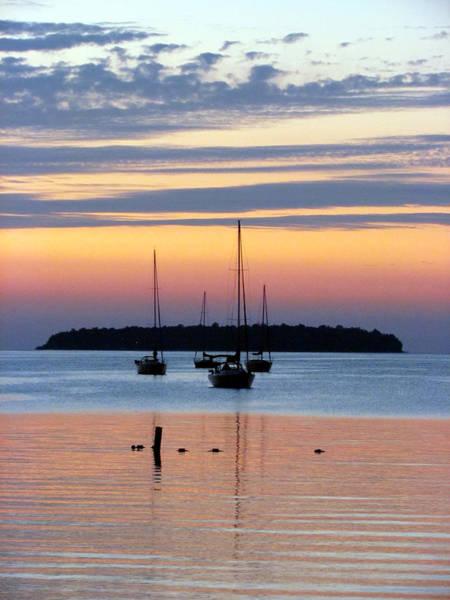Horsehoe Island Sunset Poster