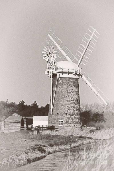 Horsey Wind Pump Vertical Poster