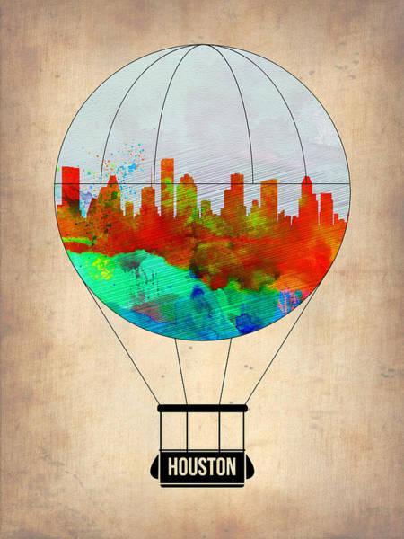 Houston Air Balloon Poster