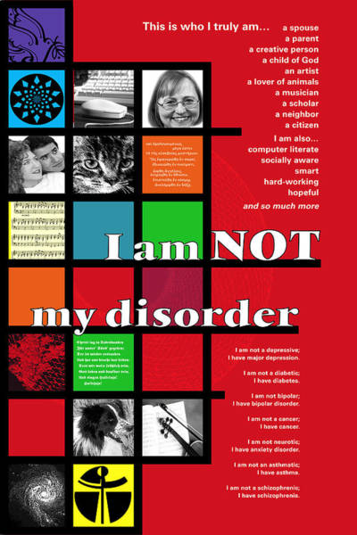 I Am Not My Disorder Poster
