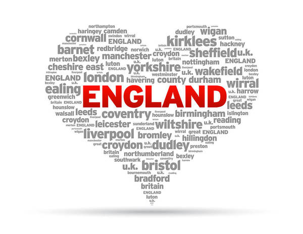 I Love England Poster