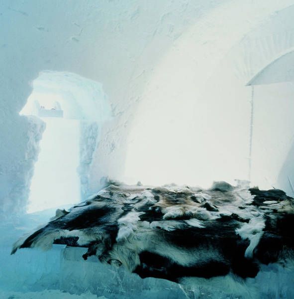 Ice Hotel Bedroom Poster