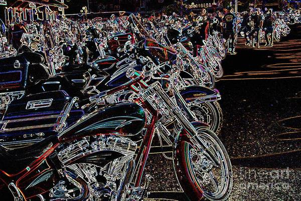 Iced Out Bikes Poster